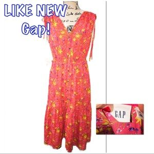 • GAP | LIKE NEW | Floral Pleated Dress •